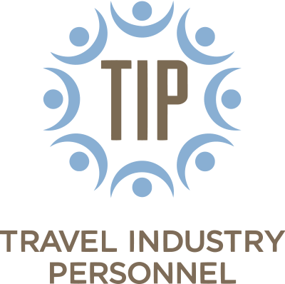 Travel Industry Personnel Logo